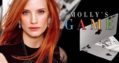 pOscar-winning screenwriter Aaron Sorkin praises a convicted poker queen for taking the moral high ground in his directorial debut Molly's Game, which premiered Saturday at the Toronto film...