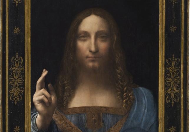 Leonardo Da Vinci's Salvator Mundi.