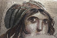 Stolen pieces of 'Gypsy Girl' mosaic to return to Turkey on Nov. 26, culture minister says