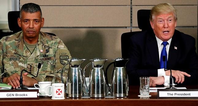 ترامب يأمر البنتاغون بالاستعداد لسحب قوات بلاده من كوريا الجنوبية