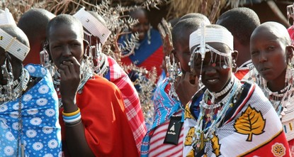 On the crowded streets of the Tanzanian capital, the sight of groups of men brandishing spears and clubs or hoisting wooden sticks used to herd cattle is no longer unusual. The men are Maasai, one...