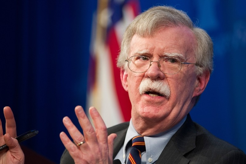 In this Dec. 13, 2018 file photo, National Security Advisor John Bolton unveils the Trump Administration's Africa Strategy at the Heritage Foundation in Washington. (AP Photo)