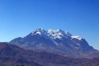 Scientists studying global warming recently climbed Bolivia's towering Mount Illimani and extracted samples of glacier ice packed with thousands of years of climate data.  The international ICE...