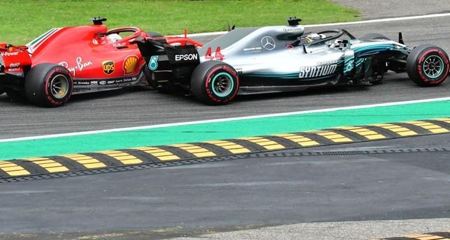 Contatto Hamilton-Vettel a Monza: iniziano i problemi in Ferrari | Numerosette Magazine