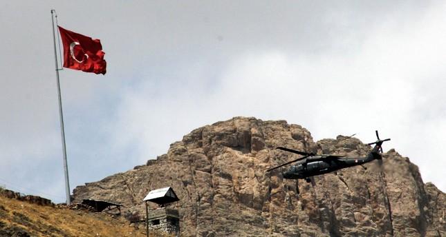 مقاتلات تركية تحيد 18 إرهابيا من بي كا كا شمالي العراق