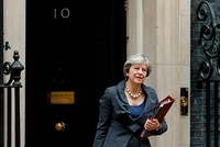 UK PM May to travel to Brussels for meetings with EU's Barnier, Juncker