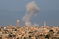 Assad, Russia step up attacks on opposition areas