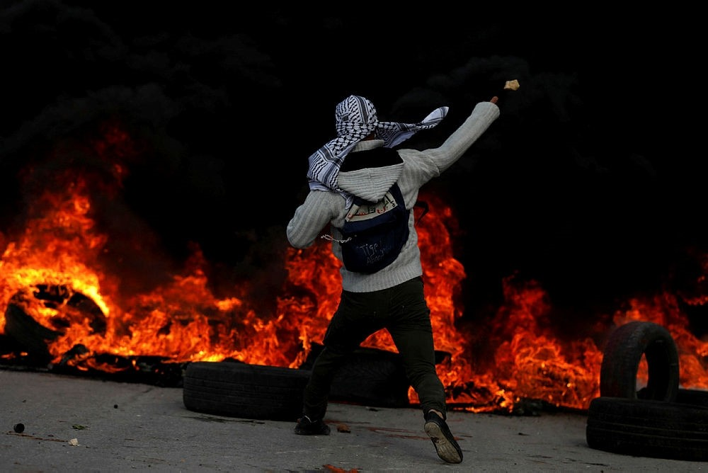 Protests in Ramallah, West Bank