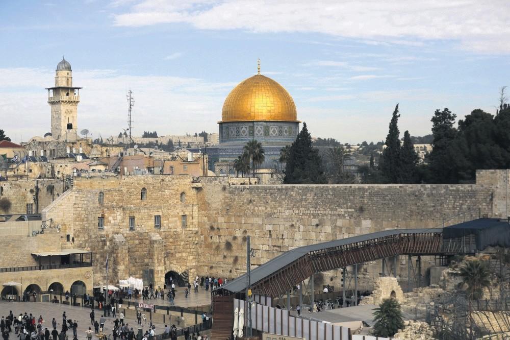 A general view of Jerusalem's Old City, Dec.10.