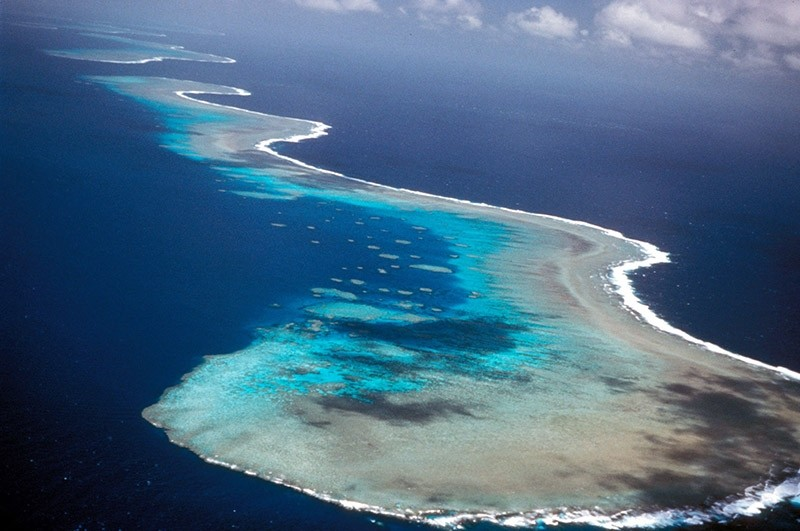 A section of Australia's Great Barrier Reef. (Reuters Photo)