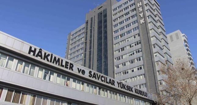 Turkey's top judicial board HSYK orders detention of 2,745 Gülen-linked judges over coup attempt