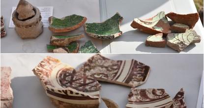 Medieval, Seljuk-era ceramics unearthed in Ani