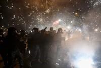 Clashes erupt between Lebanese demonstrators, police in Beirut