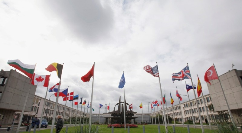 NATO Headquarters in Brussels. (AP File Photo)