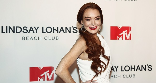 Lindsay Lohan attends MTV's Lindsay Lohan's Beach Club series premiere party at Magic Hour Rooftop at The Moxy Times Square on Monday, Jan. 7, 2019, in New York. (Photo by Andy Kropa/Invision/AP)