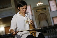 A stringed instrument that once belonged to a woman in the harem of Ottoman Sultan Abdülaziz has been bought by a 22-year-old Turkish music student.  Emine Bostancı, who studies at Rotterdam...