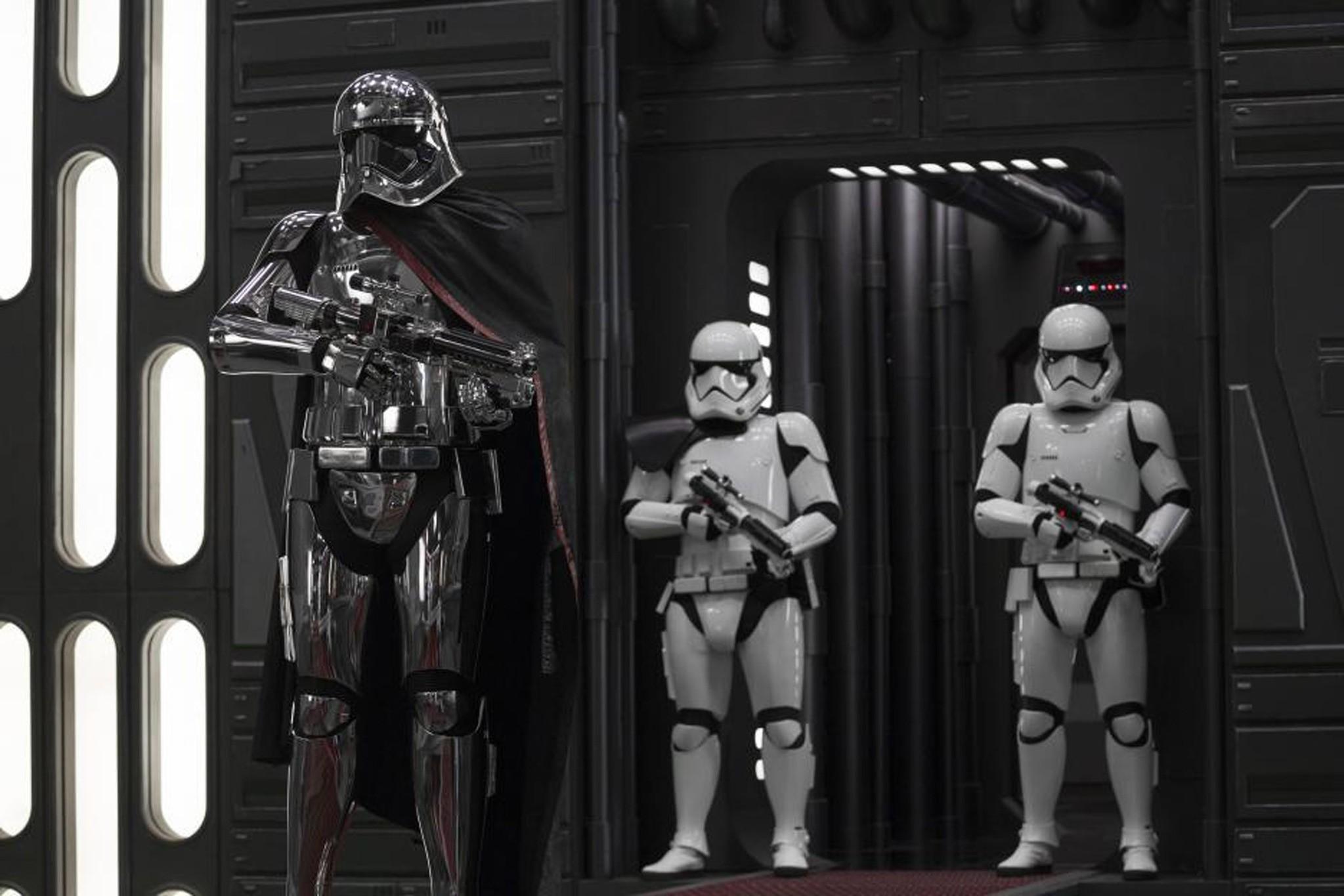 A scene from u201cStar Wars: The Last Jedi.u201d