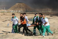 Palestinian killed by Israeli fire during Gaza border protests