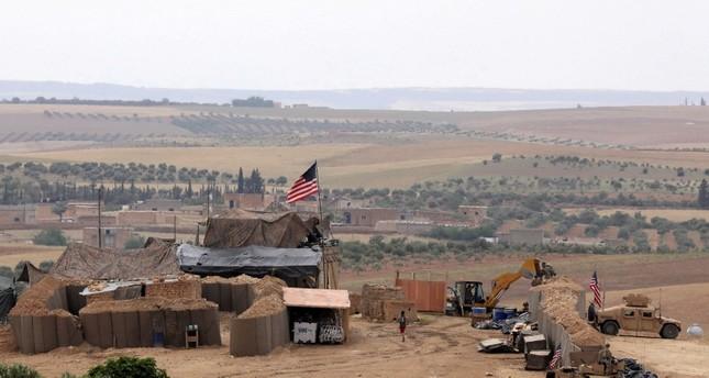 موقع عسكري أمريكي في منبج (رويترز)