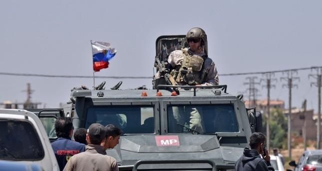 القوات الروسية في درعا (الفرنسية)