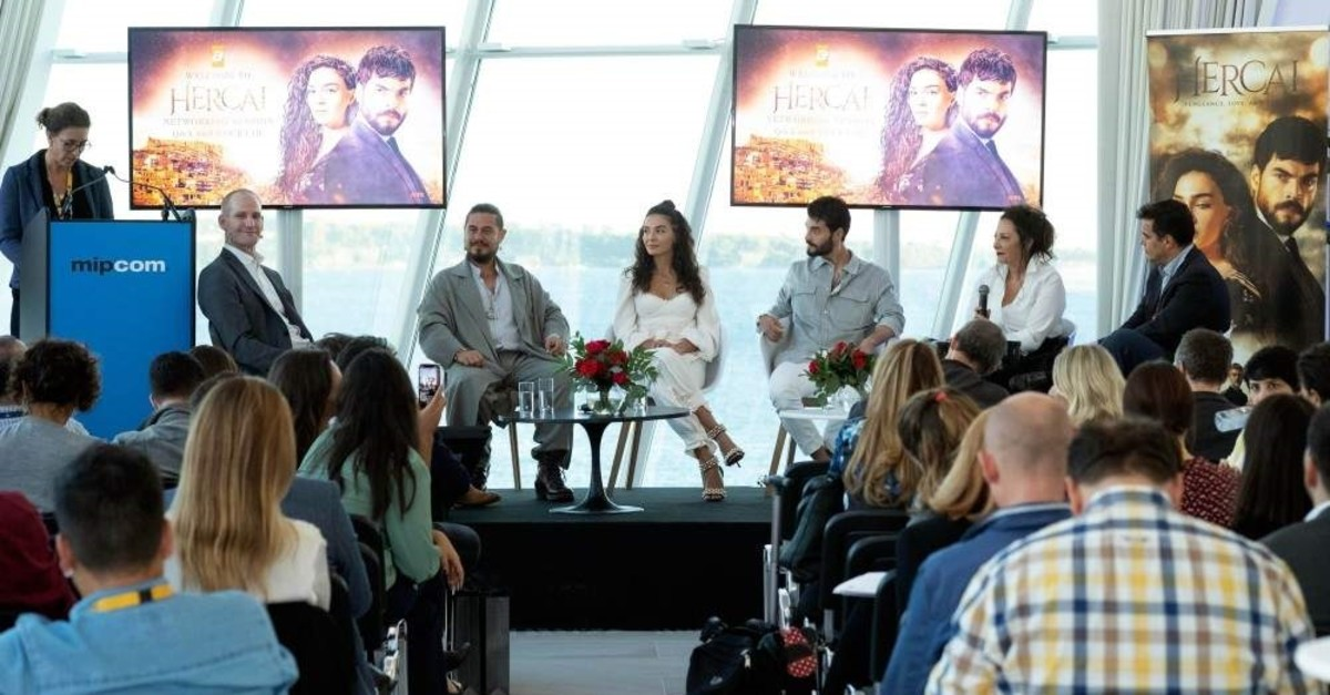 The cast of ,Hercai, at the Q&A and Networking Session.