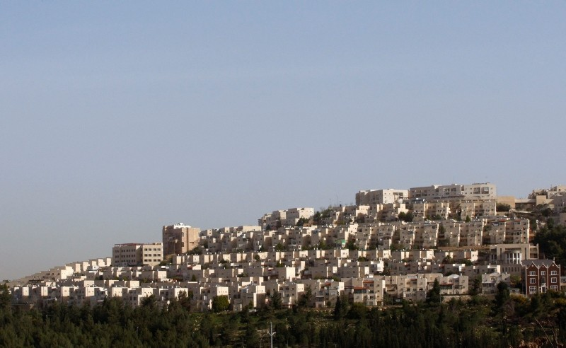 A general view of Ramat Shlomo, a religious Jewish settlement, is seen in an area of the West Bank unilaterally annexed to Jerusalem by Israel, March 11, 2010. (Reuters Photo)