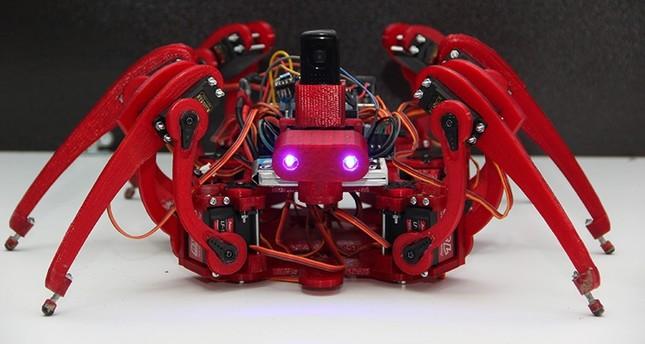 العنكبوت.. روبوت تركي لإبطال مفعول المتفجرات