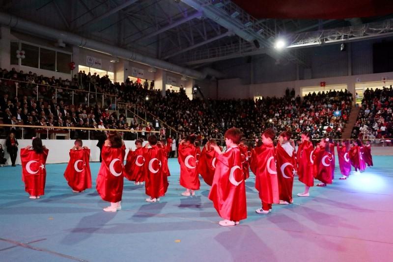 Turkish children celebrate Children's Day