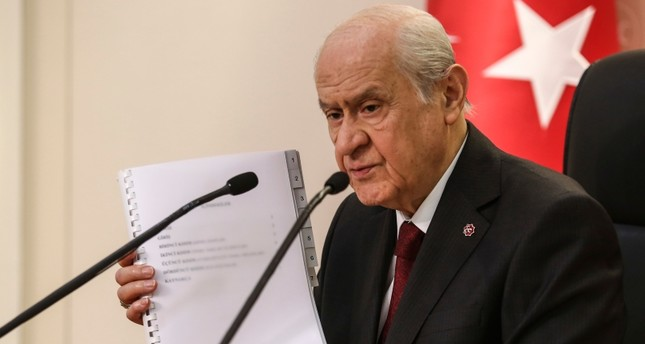 الحركة القومية التركي يعلن عن مقترح لدستور جديد