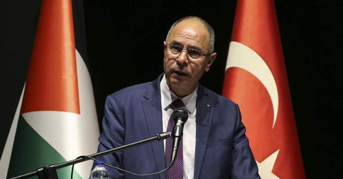 Palestinian Ambassador to Ankara Faed Mustafa. (AA Photo)