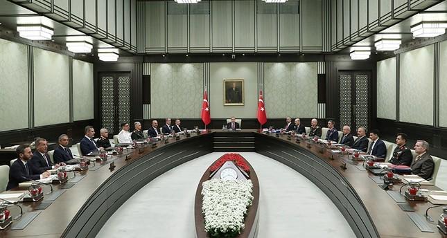 انطلاق الاجتماع الأول لمجلس الأمن القومي التركي برئاسة أردوغان في ظل النظام الجديد