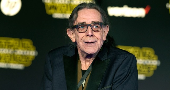 In this Dec. 14, 2015, file photo, Peter Mayhew arrives at the world premiere of Star Wars: The Force Awakens in Los Angeles. (AP Photo)
