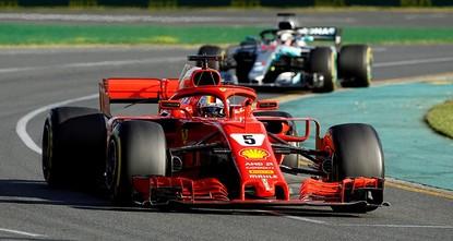 Ferrari's Vettel claims season's first win in Melbourne