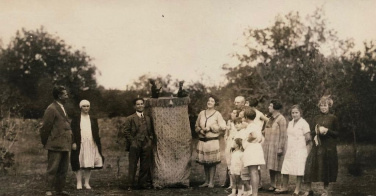 From the Bornstein Family Album, Kalamu0131u015f 1927.