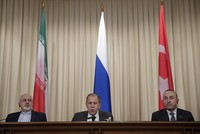 Turkish, Russian, Iranian FMs to meet in Moscow