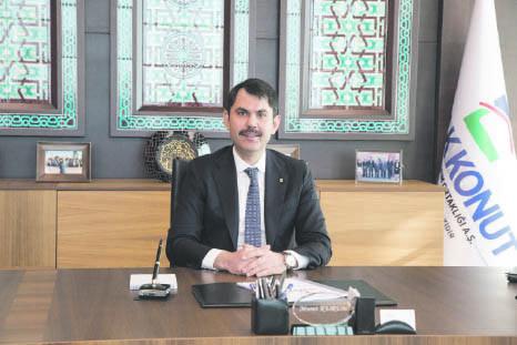 Emlak Konutu2019s General Manager Murat Kurum