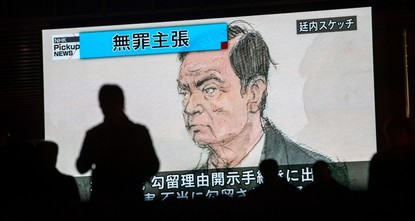 Detained ex-Nissan exec Ghosn says he will stay in Japan if freed