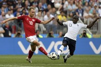 France tops World Cup Group C, Denmark second after 0-0 draw