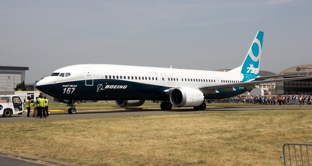 New Boeing 737-9 Max at the Paris Air Show 2017, in France, on June 22, 2017. (iStock Photo)