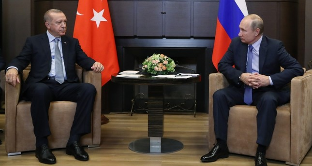 أردوغان يلتقي بوتين قبيل انعقاد مؤتمر برلين