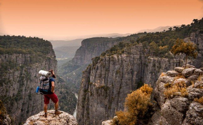 Adventurers are spoilt for choice in Turkey, Taz? Canyon pictured in Antalya's Valley of Wisdom Bilgelik Vadisi is just one them. Ender Bay?nd?r/ iStock