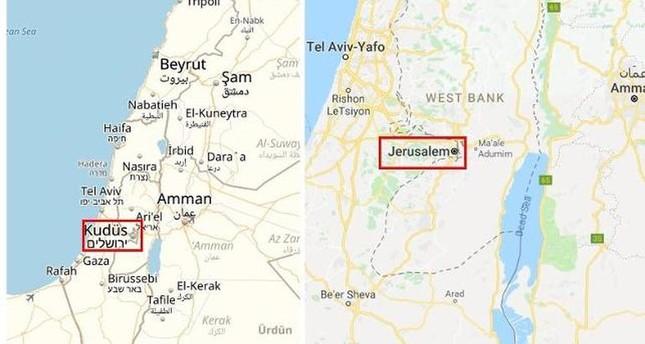 محرك البحث غوغل يعلنها صراحة القدس عاصمة إسرائيل