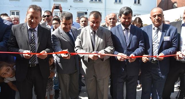 وقف الديانة التركي يفتتح مجمع مسجد آيا صوفيا في الدنمارك