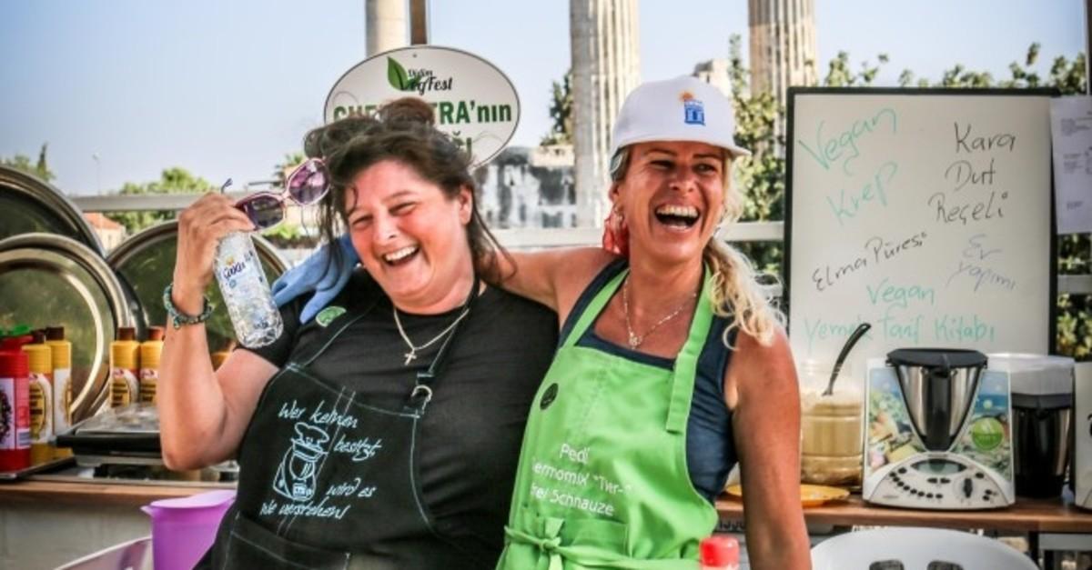 Didim Vegfest promotes veganism and green living.