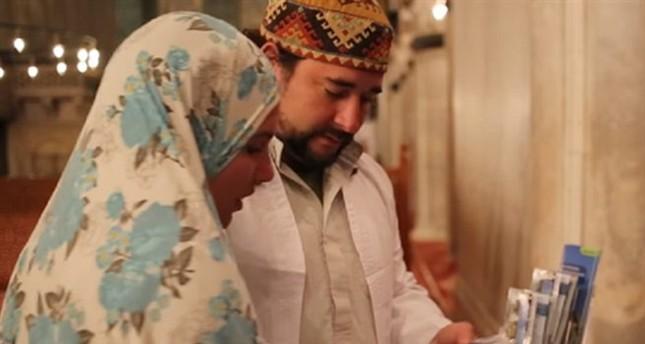 رحلة البحث عن الحقيقة تنتهي بإسلام زوجين من الهنود الحمر بإسطنبول