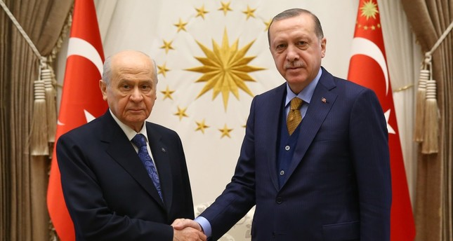 AK Party-MHP alliance to support Erdoğan as candidate