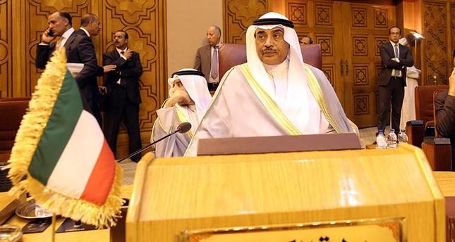 وزير الخارجية الكويتي الشيخ صباح الخالد الحمد الصباح  EPA