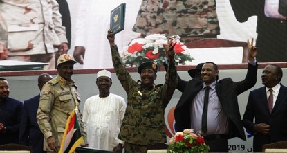 Sudan's military, protest leaders seal transition deal