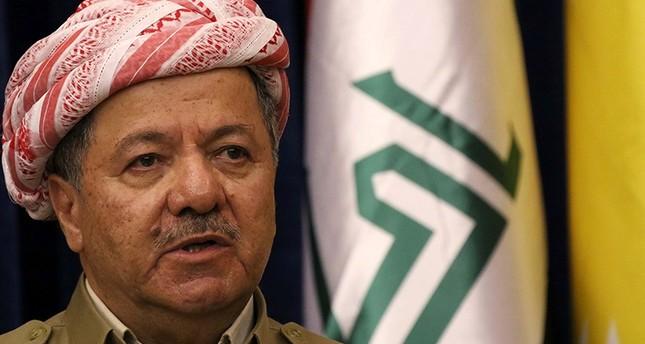 الزعيم الكردي مسعود برزاني طالب بالاستفتاء (الفرنسية)