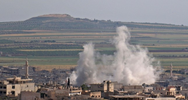 استهداف النظام للقرى والبلدات في الشمال السوري (الفرنسية)